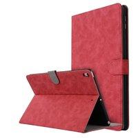 Lederen iPad Air 3 (2019) & iPad Pro 10.5 inch case cover magnetisch - Rood