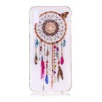 Dromenvanger Vlinder Hoesje Transparant iPhone XR - Roze