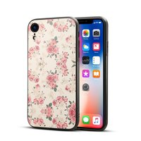 Rozen Retro Hoesje iPhone XR Case