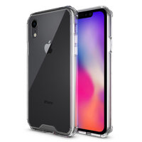 Doorzichtig Hoesje iPhone XR Case - Transparant