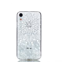Diamant hoesje TPU iPhone XR Case - Mandala