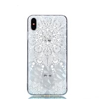 Diamant hoesje TPU iPhone XS Max Case - Mandala