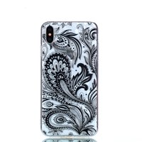 Diamant hoesje TPU iPhone XS Max Case - Zwart