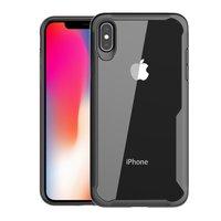 Beschermend Hoesje iPhone XS Max protective Case - Zwart