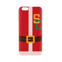 FLAVR Kerst Cardcase Ugly Xmas Sweater college footbal iPhone 6 6s - Rood