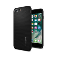 Spigen Liquid Air hoesje stevig iPhone 7 Plus 8 Plus - Zwart
