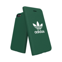 adidas Booklet bookcase walletcase hoesje flap iPhone 6 6s 7 8 - Groen