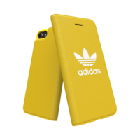 adidas bookcase walletcase hoesje flap iPhone 6 6s 7 8 - Geel