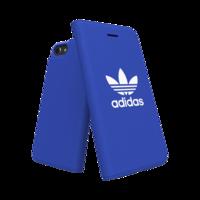 adidas bookcase walletcase hoesje iPhone 6 6s 7 8 - Blauw