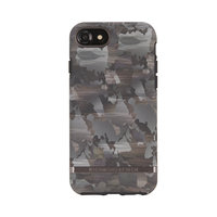 Richmond & Finch Camouflage zwart bruin legerprint iPhone 6 6s 7 8 - Groen
