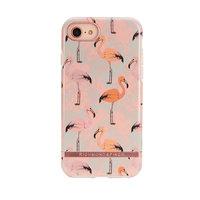 Richmond & Finch hoesje hardcase plastic flamingo iPhone 6 Plus 6s Plus 7 Plus 8 Plus - Roze
