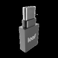 Leef Bridge Type-C Black 32GB usb geheugenopslag - Zwart