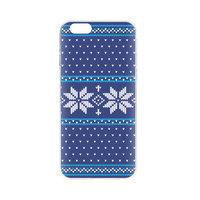 FLAVR Xmas Kerst kersttrui hoesje iPhone 6 6s - Blauw
