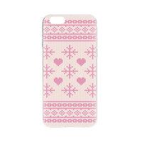 FLAVR Xmas Case Kerst kersttrui Hoesje iPhone 6 6s - Roze