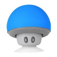 Paddenstoel mushroom speaker bluetooth zuignap standaard - Blauw