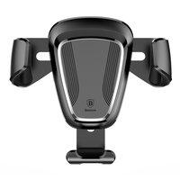 Baseus Universele autohouder ventilatierooster auto GPS smartphone - Zwart