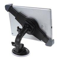 Universele Tablethouder met Zuignap auto iPad 7-12 inch - Zwart