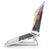 Universeel Aluminium Houder laptop Stand standaard 11-15 inch - Zilver