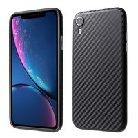 Carbon Fiber TPU hoesje iPhone XR Case