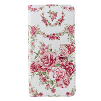 Rozen Wallet hoesje iPhone XR - Roos Case