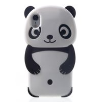 Panda Silicone iPhone XR hoesje cover