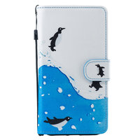 Pinguin Wallet iPhone XR Kunstleer Bookcase cover - Standaard