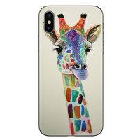 Giraffe Tekening TPU hoesje iPhone XS Max - Giraffe Case Art