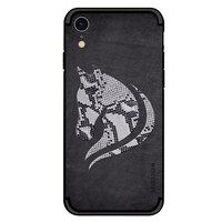 NXE Slangschubben Paard TPU hoesje iPhone XR - Zwart Case