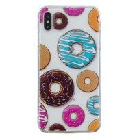 TPU hoesje iPhone XS Max case - Donut Zacht