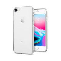 Spigen Liquid Crystal transparant case iPhone 7 8 SE 2020 hoesje - Doorzichtig