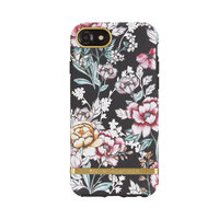 Richmond & Finch Black Floral hoesje met gouden details case iPhone 6 6s 7 8 - Zwart