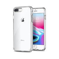 Spigen Ultra Hybrid 2 transparant case iPhone 7 Plus 8 Plus hoesje - Doorzichtig