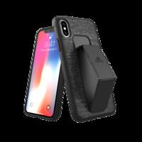 adidas SP Grip Case hoesje iPhone X XS cover - Zwart