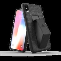 Adidas SP Grip Case FW18 Zwart iPhone XS Max hoesje - Zwart