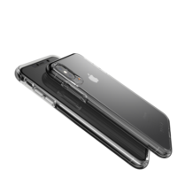 Gear4 Crystal Palace doorzichtig case iPhone XS Max hoesje - Transparant