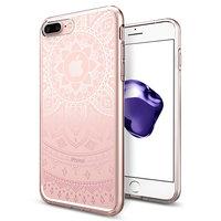 Spigen Liquid Crystal Shine hoesje iPhone 6 Plus 6s Plus 7 Plus 8 Plus - roze case