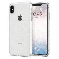 Spigen Liquid Crystal Glitter hoesje iPhone XS Max case doorzichtig