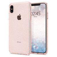 Spigen Liquid Crystal Glitter for iPhone XS Max - Roze doorzichtig