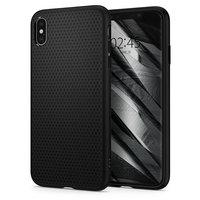 Spigen Liquid Air hoesje beschermend iPhone XS Max matt zwart case