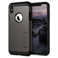 Spigen Tough Armor case hoesje beschermend iPhone XS Max grijs case