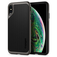 Spigen Neo Hybrid hoesje iPhone XS Max Grijs case