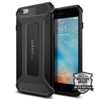 Spigen Capsule Ultra Rugged case iPhone 6 Plus 6s Plus hoesje - Zwart