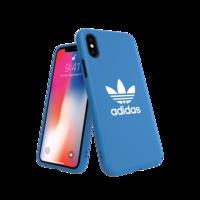 adidas Originals Moulded Case BASIC FW18 case iPhone X XS blauw hoesje