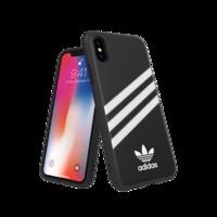 adidas Originals Moulded Case PU FW18 case iPhone X XS zwart hoesje