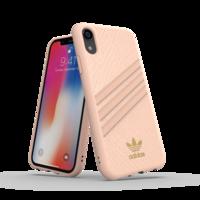adidas Originals Moulded Case slangenleer hoesje iPhone XR - roze