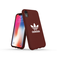 adidas Originals Moulded Case CANVAS hoesje iPhone XR - Rood