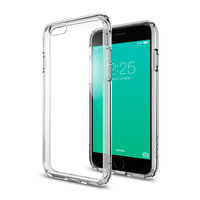 Spigen Ultra Hybrid case iPhone 6 6s hoesje - Grijs
