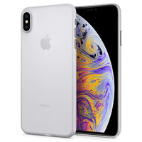 Spigen Air Skin hoesje iPhone XS Max bescherming - transparant doorzichtig case semi