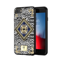 Richmond & Finch Zebra Chain hoesje iPhone 6 6s 7 8 case