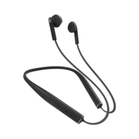 Urbanista Rome Bluetooth Nekband oortjes - Zwart